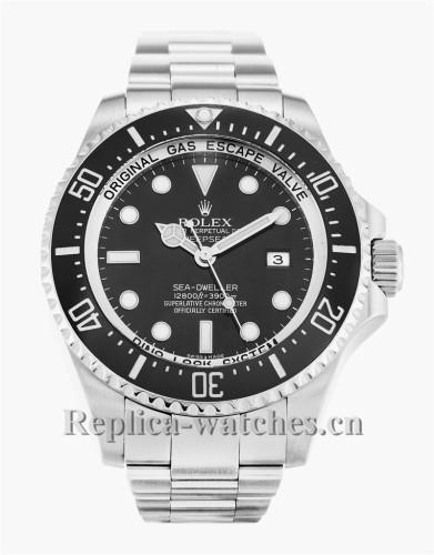 Rolex Deepsea Stainless Steel Strap Black Dial 116660