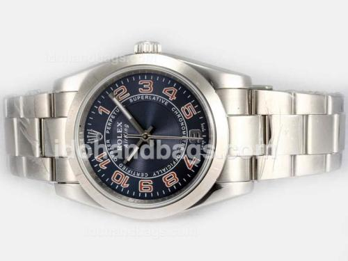 Rolex Air-King Oyster Perpetual Automatic with Blue Dial 2007 Model 18279