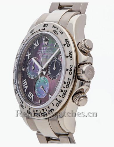 Replica Rolex Cosmograph Daytona 116509 automatic Purple Dial 40mm mens watch