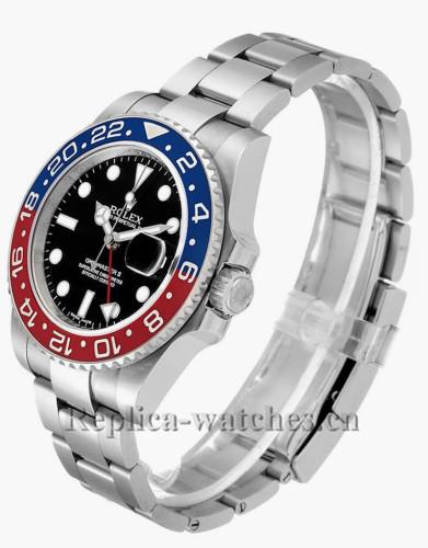 Replica Rolex GMT Master II  116719BLRO automatic black dial 40mm mens watch