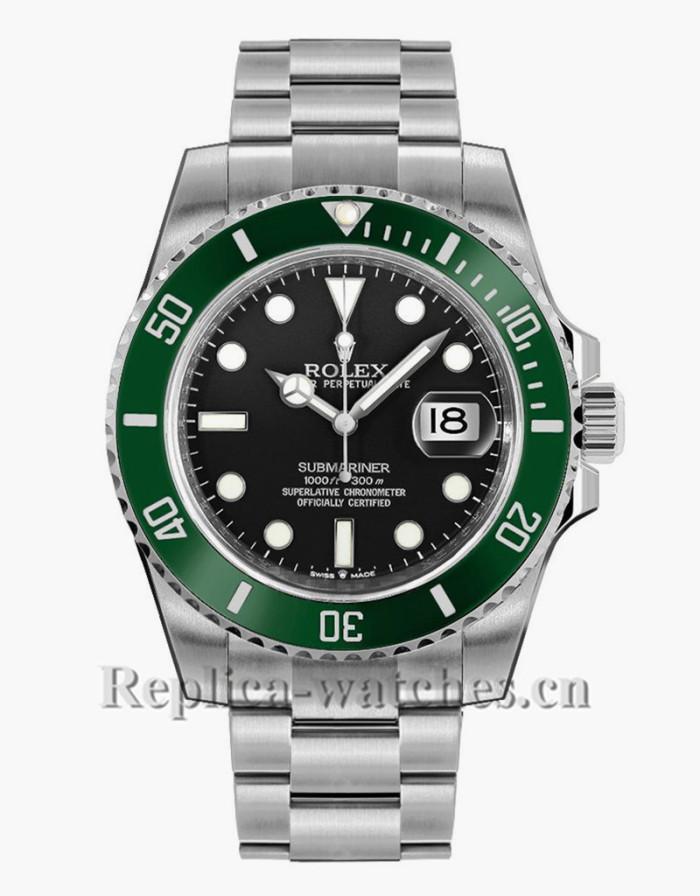 Replica Rolex Submariner Date 126610LV  Starbucks Green Bezel Black Dial Men's Watch