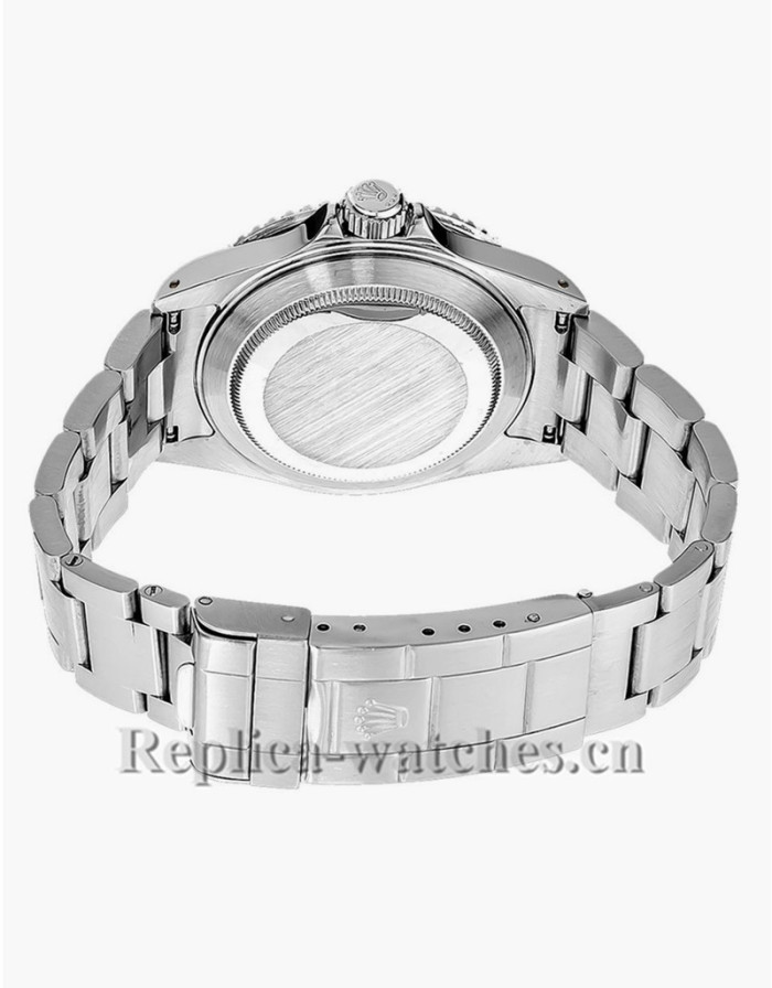 Replica Rolex Submariner 14060 Stainless Steel Case Black Dial Men's Watch