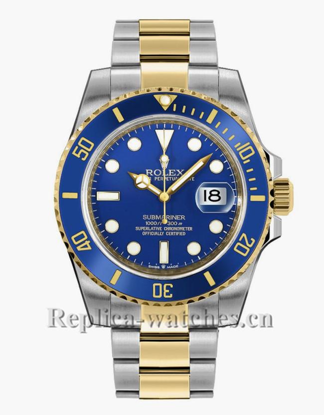 Replica Rolex Submariner Date 126613LB Blue Dial Two Tone 41mm Men's Watch