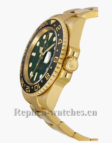 Replica Rolex GMT Master II 116718  Authentic Green Dial 40mm Men's Watch
