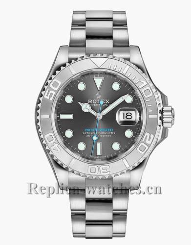 Replica Rolex Yacht Master 268622  Rhodium Grey Dial 37mm Chronometer Luxury Watch