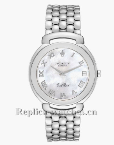 Replica Rolex Cellini  6623  Mother of Pearl Dial 37.5mm Mens Watch