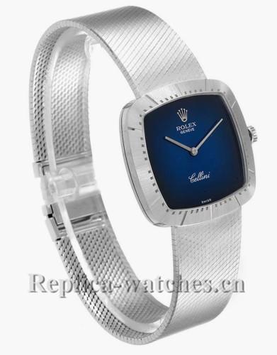 Replica  Rolex Cellini  4320  Scratch resistant Vignette Dial Mens Vintage Watch