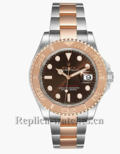 Replica Rolex Yachtmaster 126621  Stainless steel case  Chocolate brown dial 40mm Mens Watch