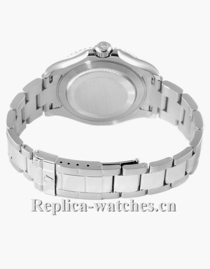 Replica Rolex Yachtmaster 16622  Stainless steel case Platinum dial  40mm  Mens Watch