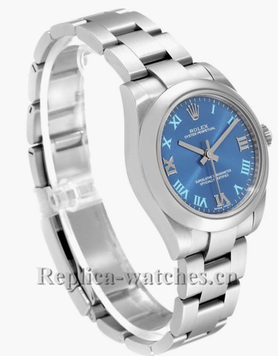 Replica Rolex Oyster Perpetual  124300 Smooth domed 41mm Blue dial  Automatic  Mens Watch