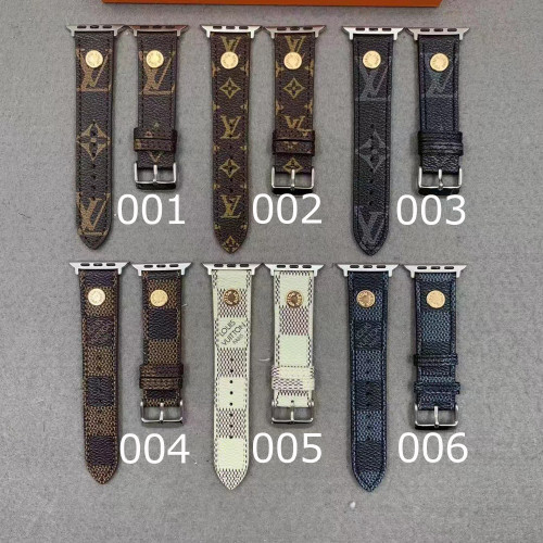 アップルウォッチ バンド ヴィトン 時計ベルト 替えベルト 38mm 42mm 40mm 44mm Vuitton モノグラム ダミエ Apple Watch バンド 大人気