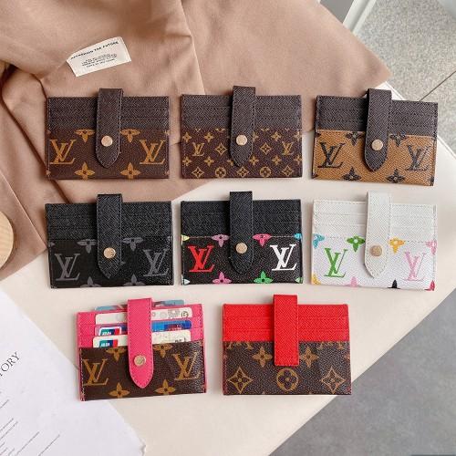 ヴィトン カードケース Vuitton ポルト・カルト モノグラム ブランド カード収納ケース かわいい 全八色 大人気