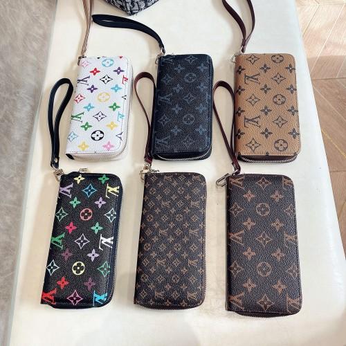 ヴィトン ハンドバッグ モノグラム ロングウォレット クラッチバッグ コインポケット 携帯入れ ウォレット Louis Vuitton 人気商品 全6色