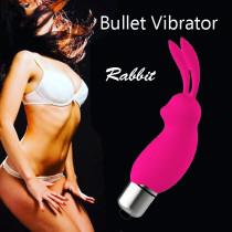 Mini Rabbit Vibrator G-spot Clitoris Vagina Stimulator