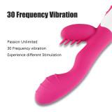 30 Speed Big Rampant Rabbit Vibrator Waterpoof Vibrating Dildo Adult Sex Toy