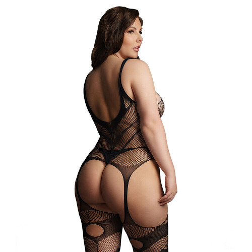 Le Desir Suspender Bodystocking UK 14 to 20