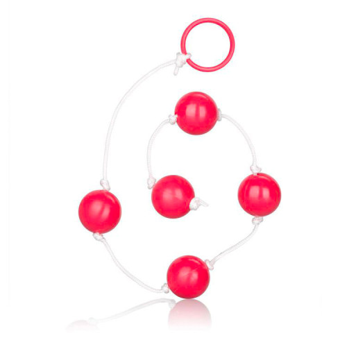 Large Pleasure Anal Beads Assorted Colours