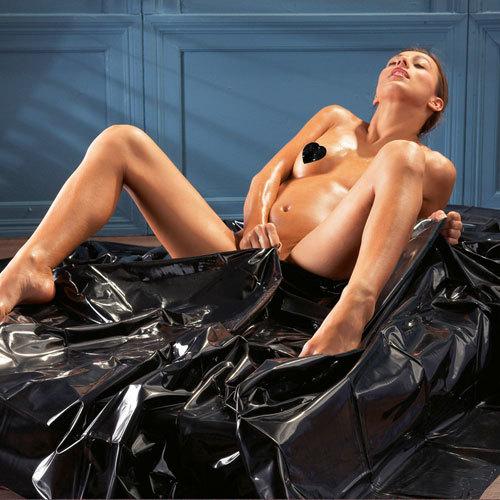 Black Orgy Bedsheets