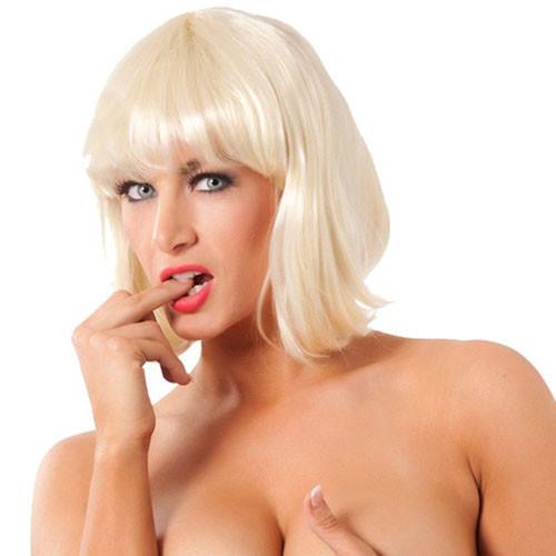 Short Blonde Wig
