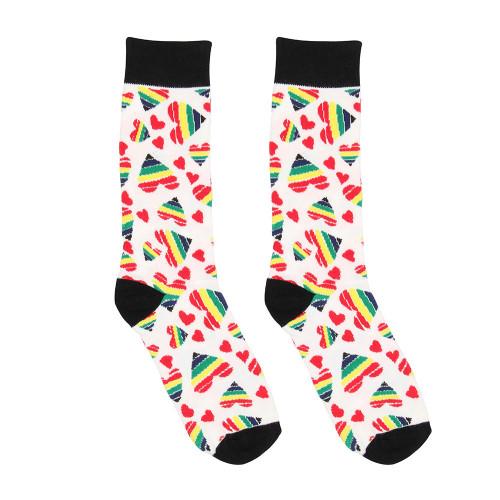 Happy Hearts Sexy Socks Size 36-41