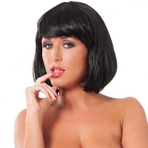 Short Black Wig