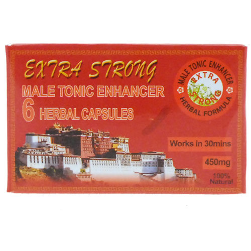 Extra Strong Male Tonic Enhancer x6