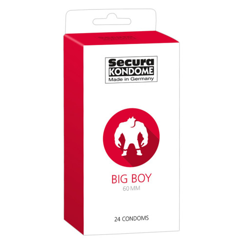 Secura Kondome Big Boy 60MM x24 Condoms