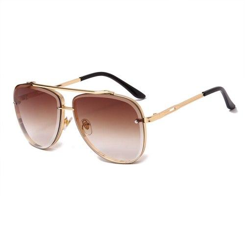 Brand Design New Sunglasses Fashion Women Men Vintage Metal Sun glasses Luxury Sunglass UV400 Shades Eyewear gafas de sol