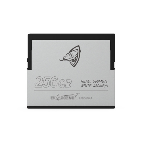 ARCHON & EXASCEND Cfast2.0Memory Card 500MB/S 256GB, 512GB, 1TB 4K 6K for Professional Photograph Camera Video Canon C200 BMD