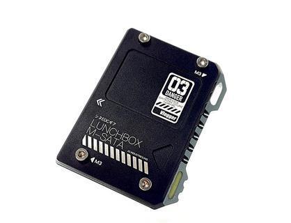 Ninja V mSATA to SATA Interconnecting Box