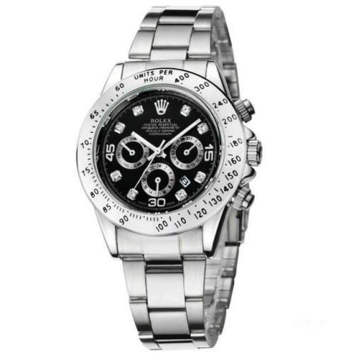 NEW Hot high quality Rolex Mens Womens Quartz Watch Fashion Gift Gold Casual Waterproof Watches 6851  Orders
