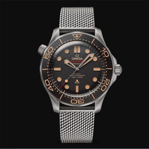 Luxury Brand Ceramic Bezel Mens Mechanical 007 Classic Automatic Movement Men Watch Designer Watches Wristwatches