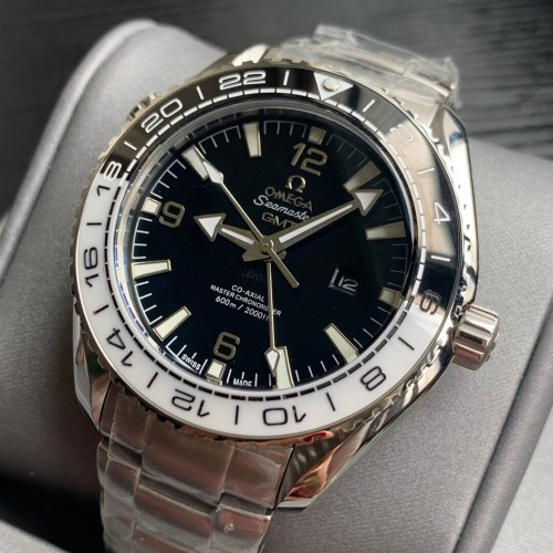 Luxury Brand seamaster watches automatic movement man GMT watch  black