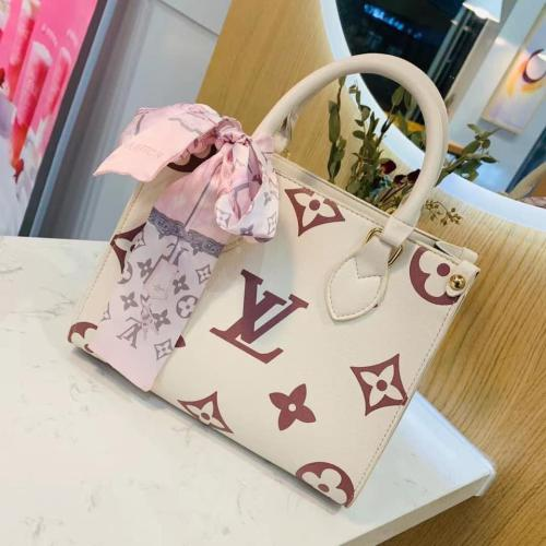 Hight quality  With Silk Scarf LV Hand Bag sling bag For Women