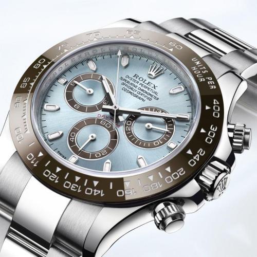 Classic Daytona Series Ladies Men's Automatic Mechanical Watch Stainless Steel Waterproof Casual Watch Gift