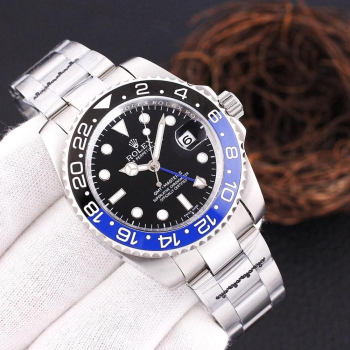 Luxury GMT Men Automatic Mechanical Watches Drive Ceramic Bezel Crystal Sapphire AAA Watch