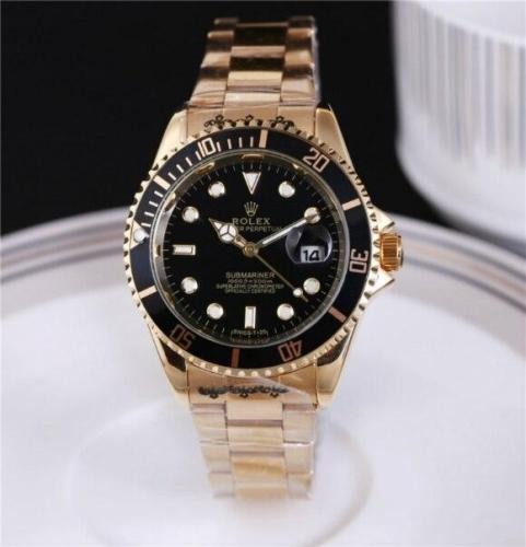 NEW Hot high quality Rolex Mens Womens Quartz Watch Fashion Gift Gold Casual Waterproof Watches 6868 Orders