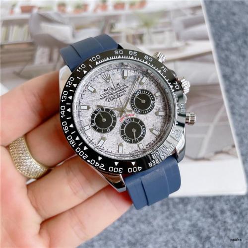 rolex luxury watches brand watch Designer watch Silicone wristwatch