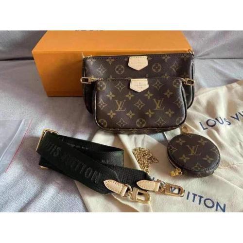 Louis Vuitton 5in1 MULTI POCHETTE ACCESSORIES Top Grade QUALITY LV Sling Bag COD
