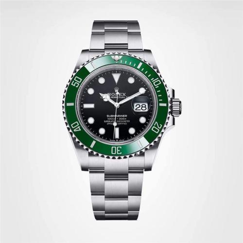Luxury Brand Black New Submariner Men Stainless Steel Mechanical Watch RX-SUB01