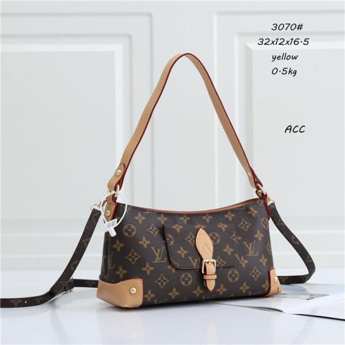 Hot Selling 2021 Classic LV Luxury Design Ladies Fashion A1MA Shell Bag Women Handbag Discoloration Leather Crossbody Shoulder Bags