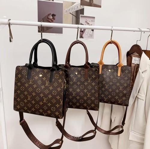 LV luxury Diana bamboo bag women's Leather Classic large capacity Luxury Design Tote Bag elegant and noble handbag
