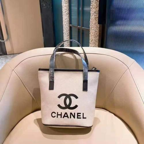 Chanel 2021 Purses Handbags Famous Luxury Designer Women Bags Canvas Letter Tote Bag Striped Shoulder Bags Large Capacity Women Handbag