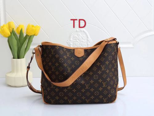 2022 New LV Luxury Designer Fashion Women large capacity Handbag Linen canvas dumpling Shopping Shoulder Tote Bag