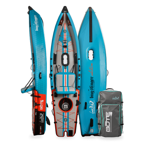 LONO Aero 12′6″ Bug Slinger™ Tarpon Inflatable Kayak