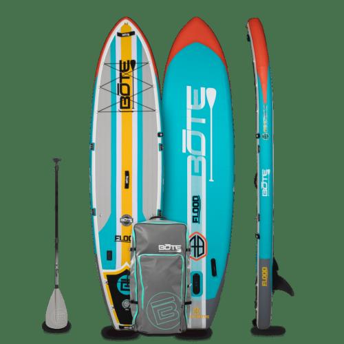 Flood Aero 11′ Full Trax Aqua Inflatable Paddle Board