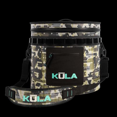 KULA Softy 5 Cooler Verge Camo