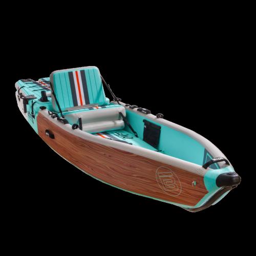 LONO Aero 12′6″ Classic Teak Inflatable Kayak
