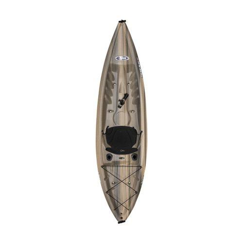 Pikes Run 100 angler fishing kayak