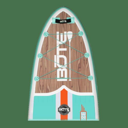 Breeze Aero 10′8″ Classic Teak Inflatable Paddle Board